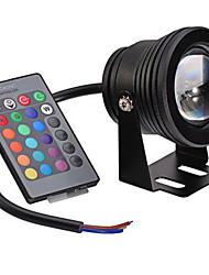 10 Girlande Unterwasserleuchten Eingebauter Retrofit 1 Integriertes LED 400 lm RGB Dimmbar / Ferngesteuert / Dekorativ AC 12 V 1 Stück
