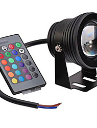 RGB 10W Underwater Lamp Waterproof IP68 Safety Voltage 12V Underwater Colorful Lights