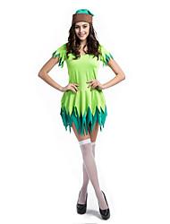 Costumes de Cosplay / Costume de Soirée Fête d'Octobre/Bière / Costumes de carrière Fête / Célébration Déguisement Halloween NoirCouleur