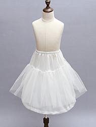 Slips Ball Gown Slip Short-Length 2 Polyester White
