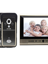 KiVOS KDB700 Wireless Visual Intercom Household Doorbell Surveillance Video Unlock