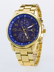 Men's Dress Watch / Quartz Alloy Rose Gold Plated Band Casual Gold