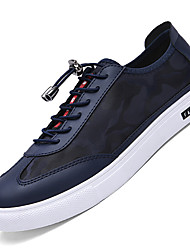 Running Shoes / Casual Shoes Men's Anti-Slip / Wearproof Low-Top Leisure Sports White / Black / BlueRunning/Jogging /