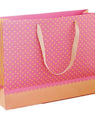 gran manera de gama alta simple de la bolsa regalo romántico día de regalo de color rosa de tarjeta del día 47 * 35 * 15