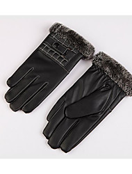 Winter Touch Screen Gloves And Plush Thickened Bike Ski Gloves