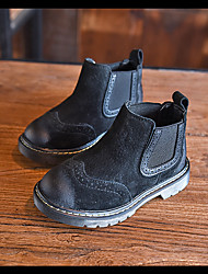 Unisex Boots Fall Combat Boots Suede Outdoor Low Heel Others Black / Khaki Others