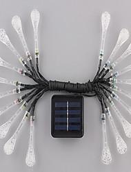 1pc 4.8m 20LED Solar-Lichterkette für Urlaub Partei Hochzeit führte Weihnachtsbeleuchtung