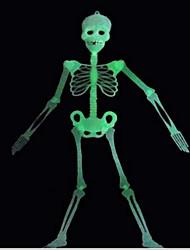 halloween decoração suprimentos cena KTV bar esqueleto luminosa bloodcurdling luminosa cerca de 90 centímetros padrão aleatório