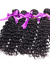 7A Unprocessed Human Hair Curly Wavy Products Indian 100% Virgin Curly Hair Extensions 4 Bundles