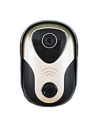Wireless 720P HD Video Intercom/Support Linkage Intrusion Alarm/Cellphone APP to Unlock Doorbell System
