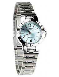 Women's Dress Watch Fashion Watch Quartz / Stainless Steel Band Casual Silver