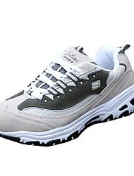 Для женщин-Повседневный Для занятий спортом-Полиуретан-На плоской подошве-Удобная обувь-Кеды