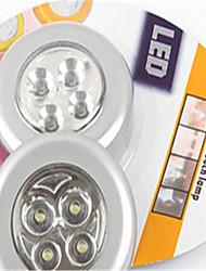lampe murale voiture accueil d'urgence poitrine ambré petite nuit quatre multifonctions lumière 4 led tactile