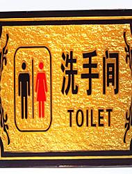 signes de la plaque signalétique toilettes signes signalisation hôtels de secours carte invite xin