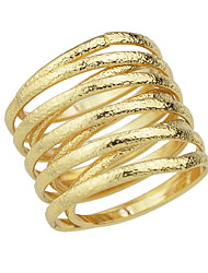 Gold Silver Color Metal Finger Rings