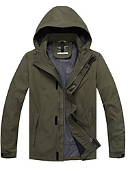 Hiking Softshell Jacket Men's Waterproof / Breathable / Windproof / Sweat-wicking / Thermal /