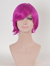cor de rosa mulheres cacheados moda perucas sintéticas cosplay europeu e americano