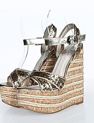 Women's Sandals Summer Wedges / Heels / Platform / Sandals PU / Glitter Party & Evening / Dress / Casual Wedge Heel