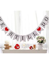 Перламутровая бумага Свадебные украшения-1шт / комплект Весна Лето Осень Зима Неперсонализированный Не указано