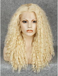 IMSTYLE 20Beautiful Popular 613 Blonde Curly Synthetic Lace Front Wig