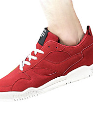 Men's Sneakers Spring / Fall Comfort Outdoor / Athletic Flat Heel Lace-up Black / Blue / Red / Gray Sneaker