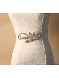 Spandex Mariage / Quotidien Ceinture-Strass Femme 150cm Strass