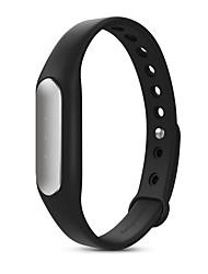 Xiaomi® MI Band 1S Muñequeras Podómetros Monitor de Pulso Cardiaco Seguimiento del Sueño Bluetooth 4.0 iOS Android