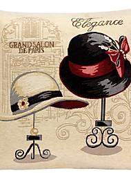 ropa de almohada cubierta / caso, cuentan con tejidos tradicionales / clásico gorras dama