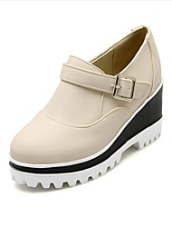 Women's Flats Spring / Summer / Fall / Winter Flats PU Outdoor / Dress / Casual Flat Heel Others Black / Red / Gray /