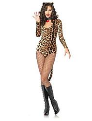 Costumes More Costumes Halloween Fuschia Leopard Terylene Leotard/Onesie / More Accessories