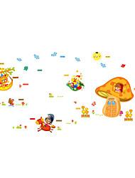 Animali / Natale / Moda Adesivi murali Adesivi aereo da parete Adesivi decorativi da parete,PVC MaterialeLavabile / Rimovibile /