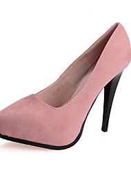 Women's Shoes Fleece Summer Heels Heels Casual Stiletto Heel Others Black / Pink / Purple / Red / Gray / Fuchsia