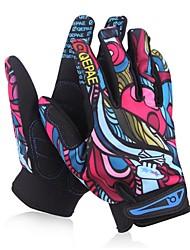 Winter Gloves Women'sAnti-skidding / Keep Warm / Wearproof / Waterproof / Windproof / Snowproof / Breathable
