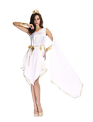 Women's Greek Goddess Halloween Costume Fancy Dress
