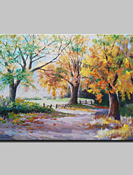 Hand Painted Abstract Landscape Oil Painting On Canvas Wall Art Picture For Home Decoration Ready To Hang