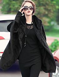 LUTING Women's Shirt Collar Long Sleeve Sweater & Cardigan Black / Brown / Khaki / Almond-9611