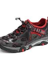 Для мужчин Спортивная обувь Тюль Лето Для пешеходного туризма На плоской подошве Оранжевый Желтый Красный Менее 2,5 см