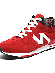 Men's Sneakers Spring / Fall / Winter Comfort Suede Outdoor / Athletic / Casual Black / Blue / Red Tennis / Walking /