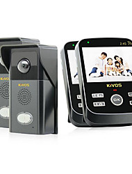 KiVOS KDB303 Wireless Doorbell Doorbell Camera Battery Waterproof Home Video Intercom