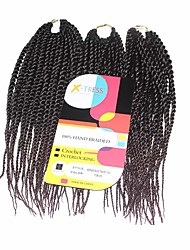 Sénégal Tresses Twist Extensions de cheveux Kanekalon Cheveux Tressée