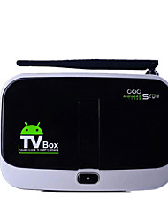 CS918S HD Network Player Quad-Core Allwinner A31S TV Set-Top Box For Video Calls