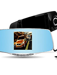 Ling Degree A206 Driving Recorder Dual-Lens Rear-View Mirror High-Definition Driving Recorder