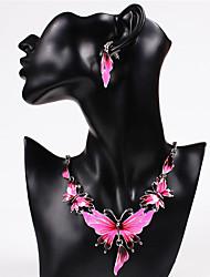 Damen Schmuckset Halskette / Ohrringe Sexy Modisch Europäisch Modeschmuck Halsketten Ohrringe Für Hochzeit Party Alltag Normal
