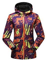 Trilha Jaquetas Softshell Mulheres Mantenha Quente / A Prova de Vento / Vestível / Tecido Ultra Leve / Redutor de Suor Primavera / Outono