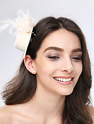 Шапка-украшение женская с перьями (для особых случаев)
