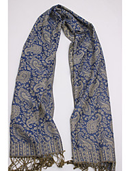 Women Cotton / Polyester ScarfVintage / Party / Work / Casual Rectangle / Infinity ScarfJacquard