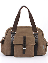 Unisex PU Canvas Sports Casual Outdoor Office & Career Professioanl Use Shoulder Bag