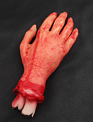 Scary Broken Finger Hand Blood Horror Halloween Decoration Severed Bloody Simulate Hand Novelty Dead Broken Hand Gadgets