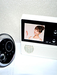 2.4 Inch Digital Intelligent Doorbell Door Viewer With Night Vision Function Of 90 Degree Angle