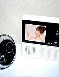 130 90 CMOS Sistema de campainha Sem Fios Campainha de vídeo multifamiliar
